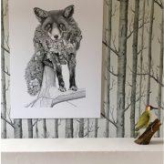 Fox Canvas Photo